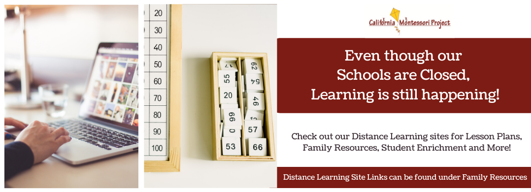 Even though our Schools are closed, learning is still happening! Check out our Distance Learning sites for lesson plans, family resources, student enrichment and more! Distance learning site links can be found under family resources.